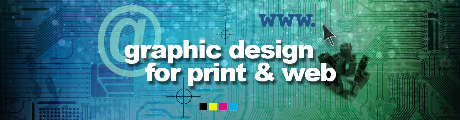 Graphic Design for Print and Web