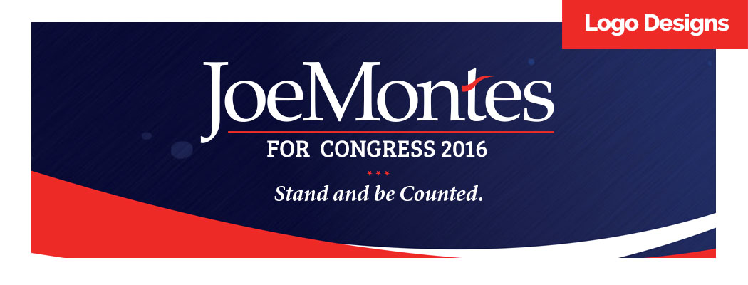 Joe Montes for Congress Logo Design