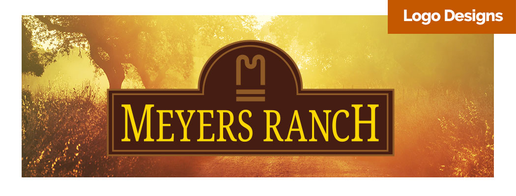 Meyers Ranch Logo Design